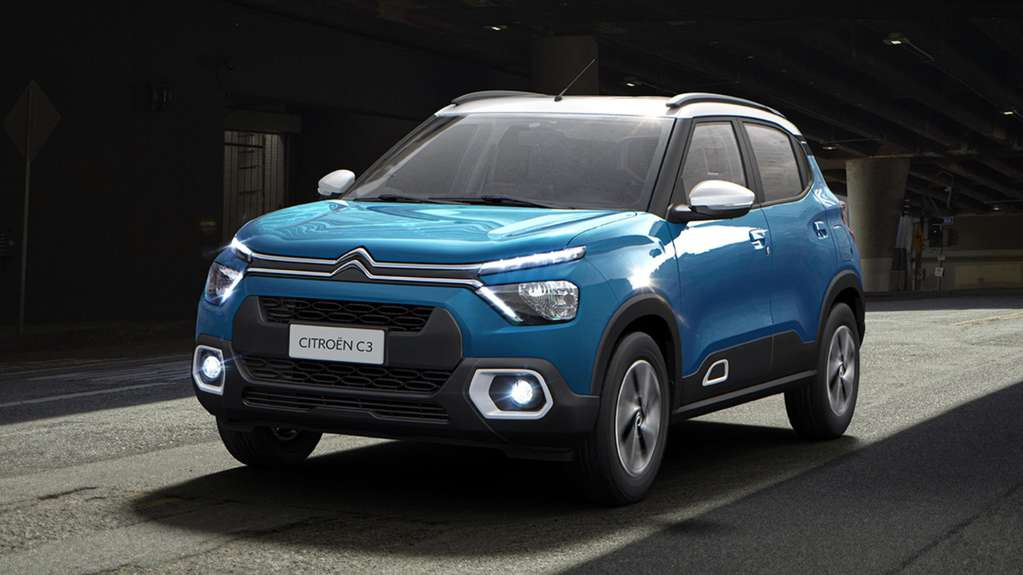 Citroën presented the new C3 that will arrive in Argentina in 2022: it has a raised body and looks like an SUV