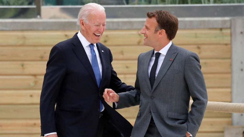 Crisis in NATO: Joe Biden seeks to end the conflict with France over a frustrated sale of submarines to Australia