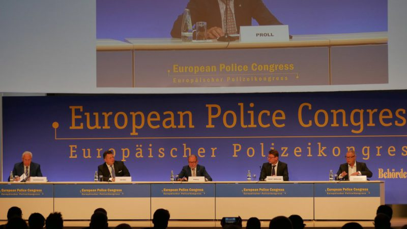 European police congress: defensive democracy also in cyberspace