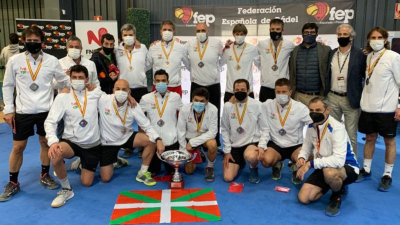 Euskadi will participate in the European paddle tennis after the resignation of Spain