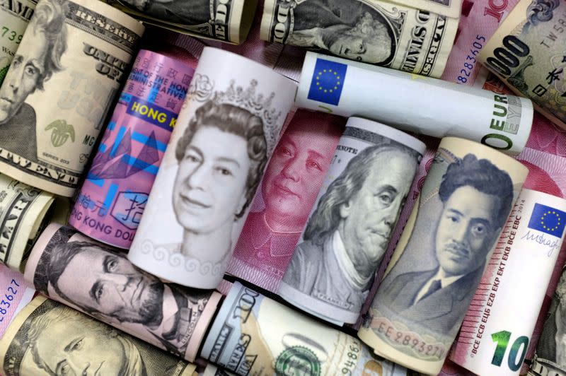 FOREX-Dollar rises, market awaits Fed meeting to have clues on stimulus withdrawal