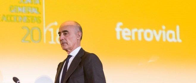 Ferrovial vuelve a por sus máximos anuales