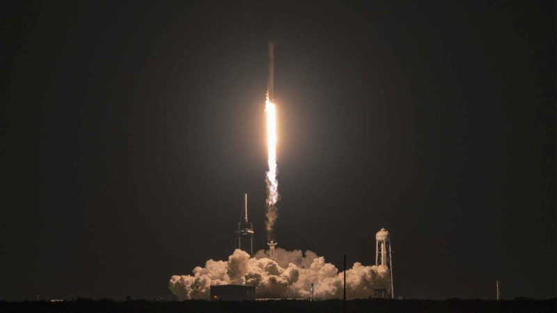 First SpaceX mission with four space tourists successfully completes after three days in orbit