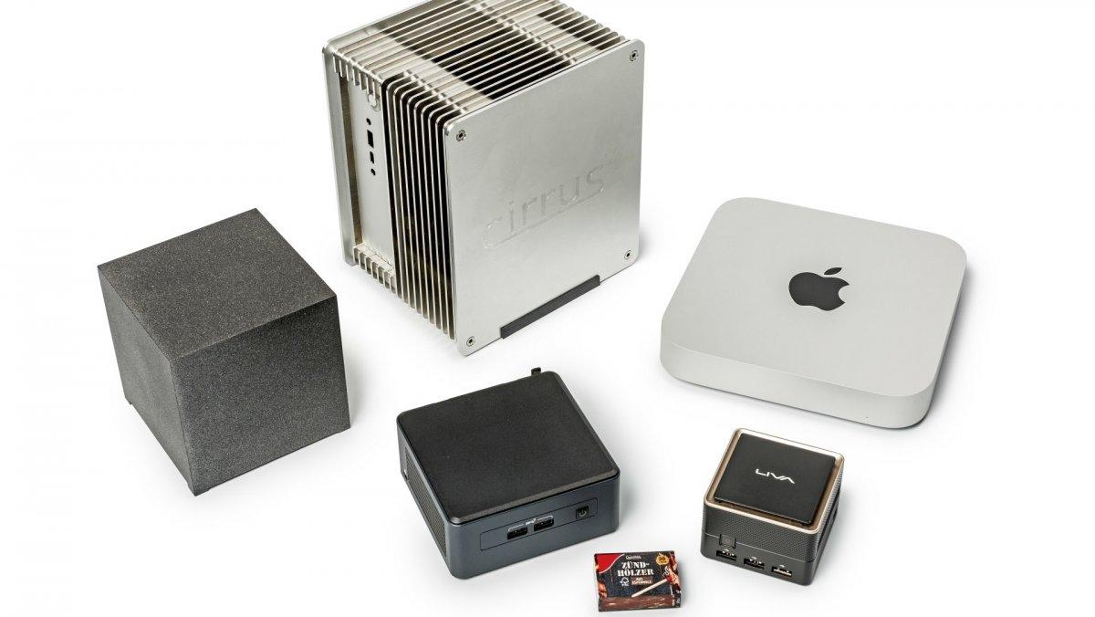 Flexible mini-PC instead of notebook or bulky desktop PC