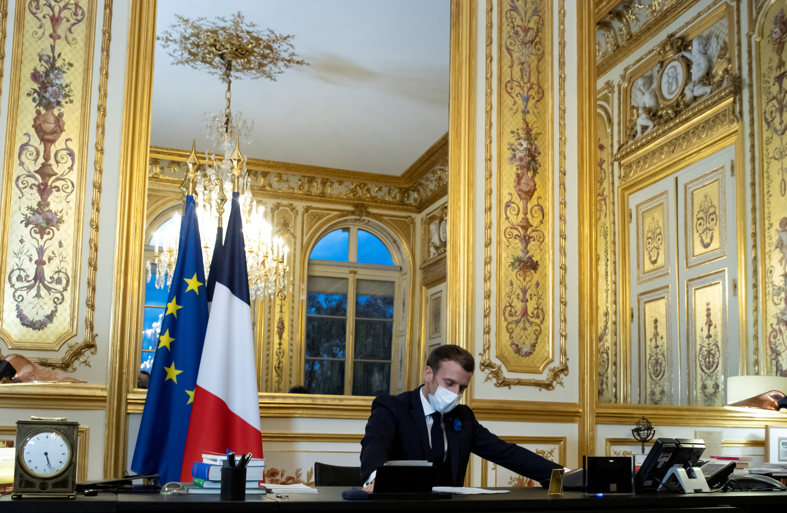 France, the 'grandeur' stabbed
