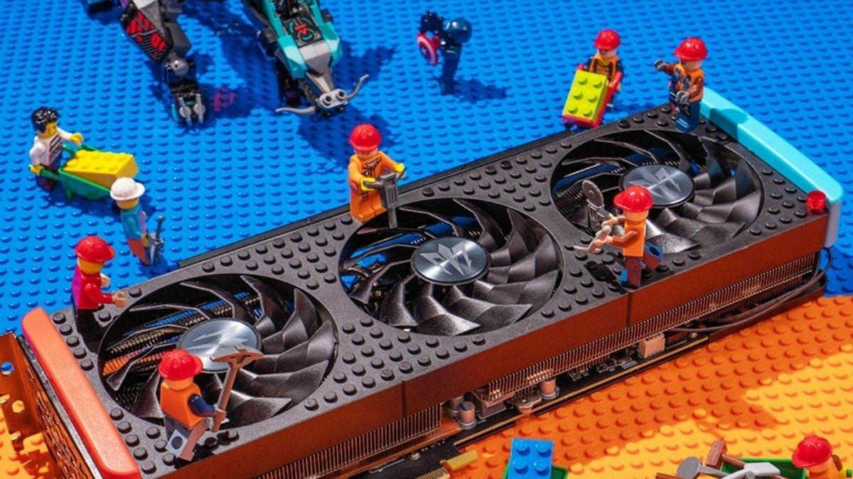 Gaming graphics card GeForce RTX 3060: Remnants utilization with GA104 GPU