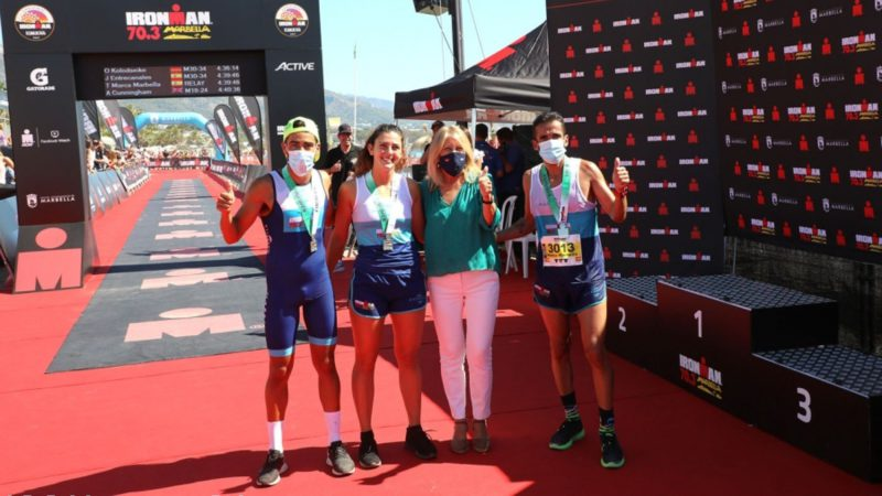 Great success of the Ironman 70.3 in Marbella with about 1,300 participants from 60 countries