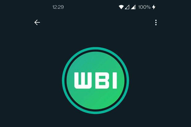 Now your WhatsApp profile picture will appear shaded.  (Photo: WABeta Info)