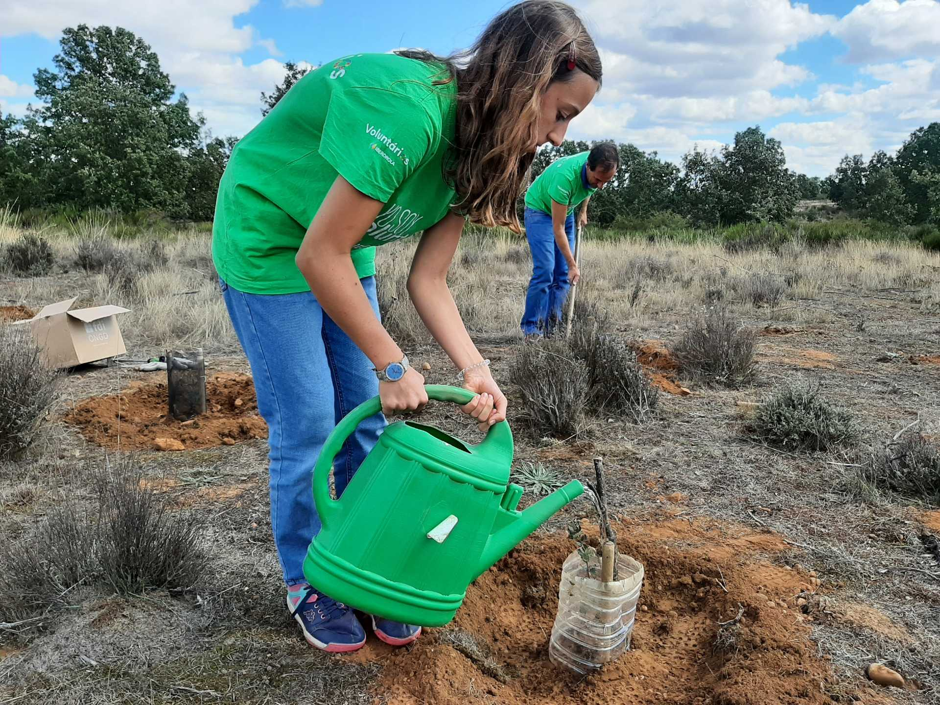 Iberdrola involves 5,000 volunteers on the International Volunteer Day