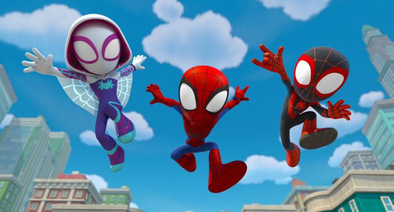 Disney Plus premieres the series 'Spidey and his amazing friends' this September 22 - MAG.