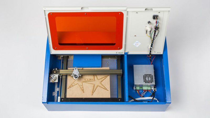 Laser cutter K40: diagnose and fix laser cutter errors