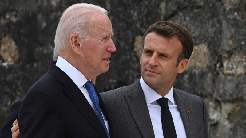 Macron and Biden will speak after the crisis opened by the millionaire submarine business with Australia
