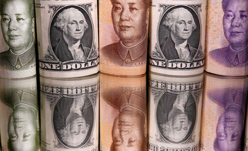Nervousness over Evergrande drives the dollar with investors seeking refuge