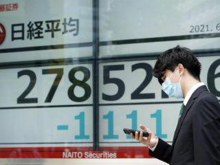 Nikkei down 0.52% on profit taking after 31-year high