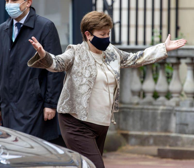 'Not true': IMF's Georgieva denies pro-China pressure in World Bank report