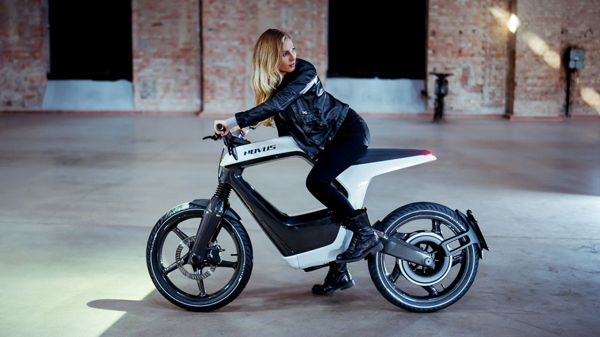 Novus One electric motorcycle: sensationally light, extremely expensive