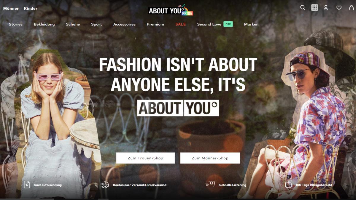 Online fashion retailer About You raises sales forecast