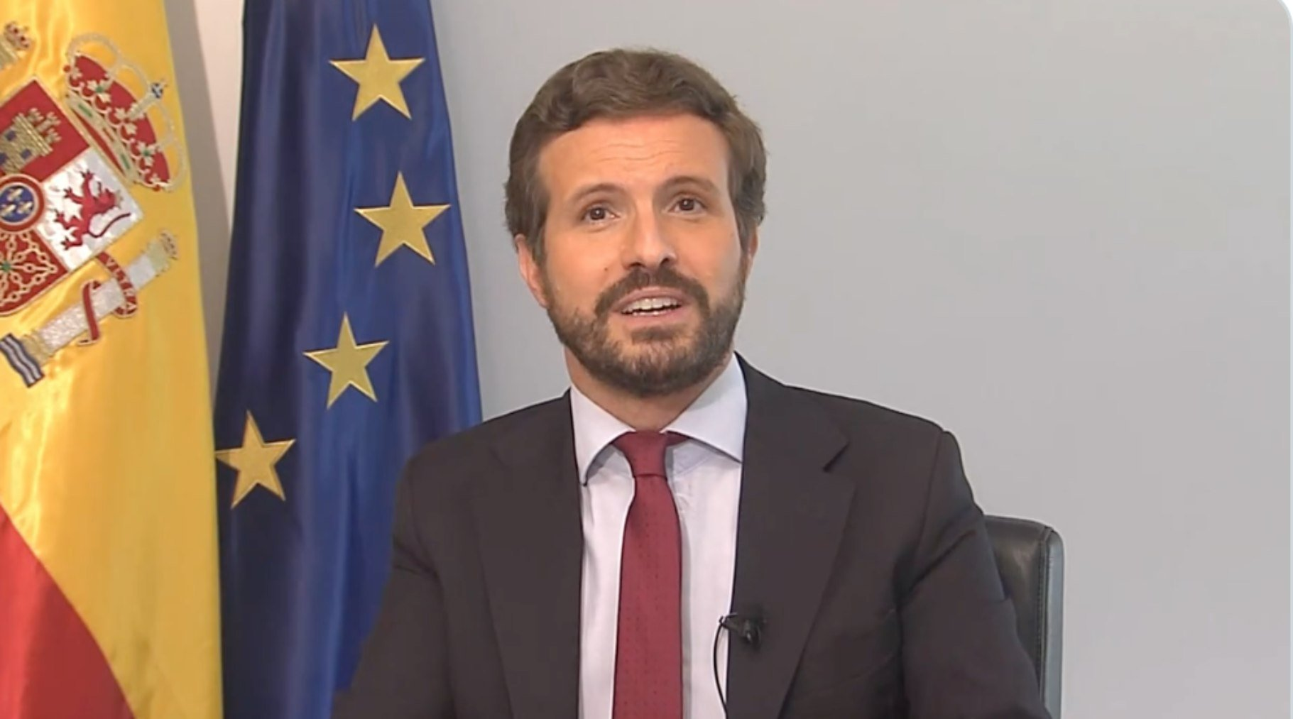 """Pablo Casado warns Sánchez about the renewal of the CGPJ: """"Nobody pressures me"""""""