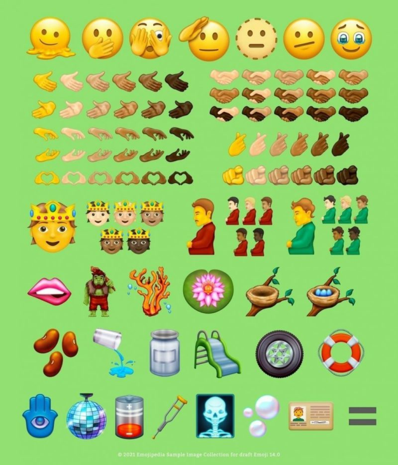Pregnant man and more: new emojis for text messages