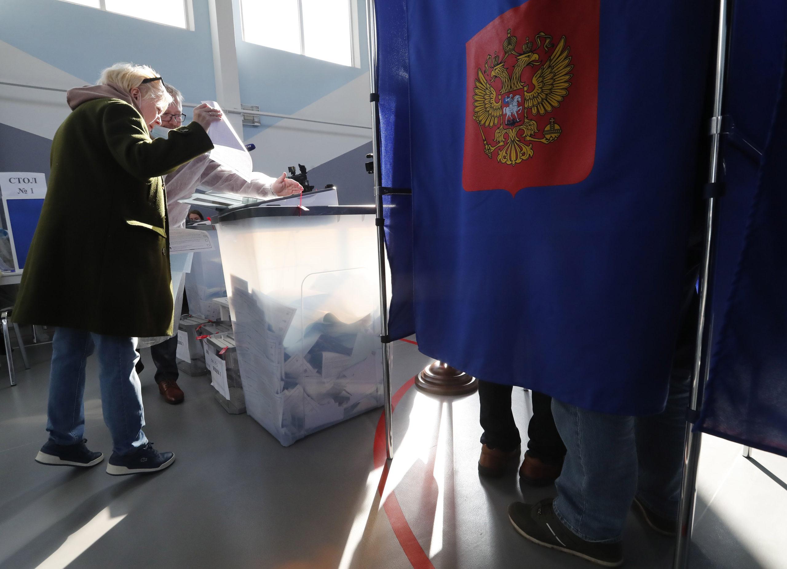 Putin's party prepares to revalidate its parliamentary majority