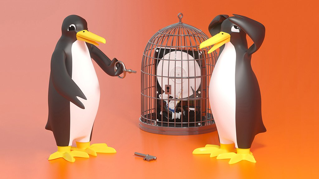 Rescue data from encrypted Linux installations