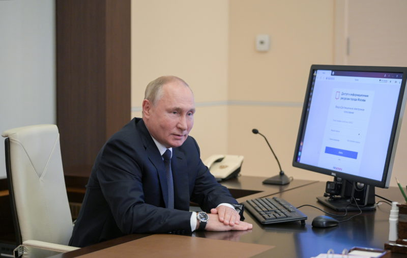 Russia's parliamentary elections measure Putin's strength after pandemic