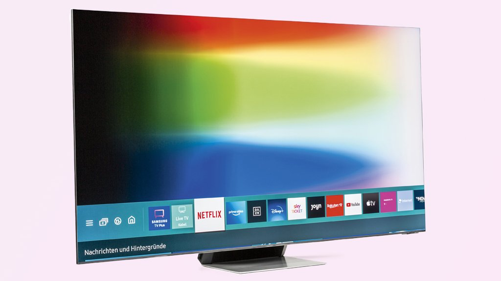 Samsung 65QN900A: 8K TV with mini LEDs in the test