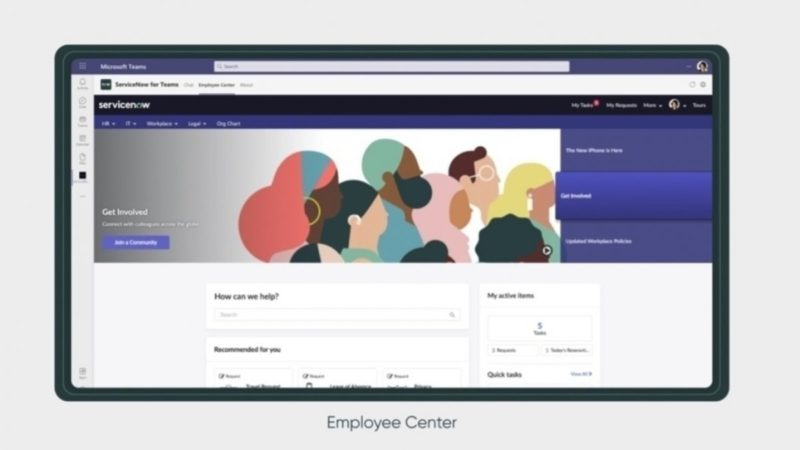 ServiceNow Rome release: All information for employees in MS Teams