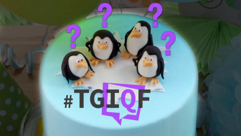 #TGIQF - The quiz about the 30th Linux birthday