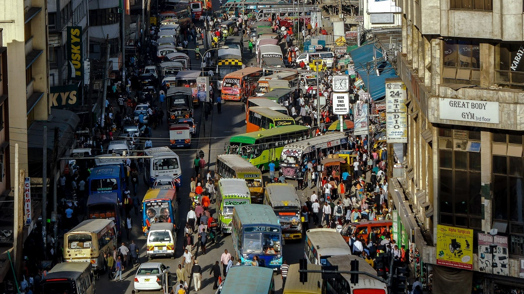 The 5 most populous cities in Africa in 2021