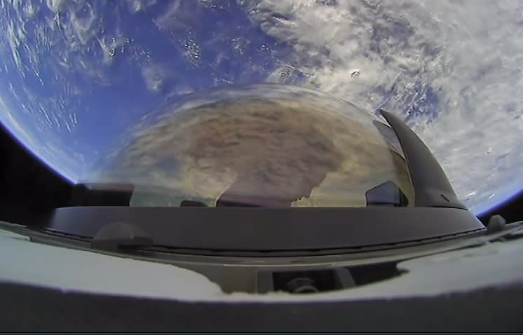 The Dragon capsule successfully returns with the first civil mission in space