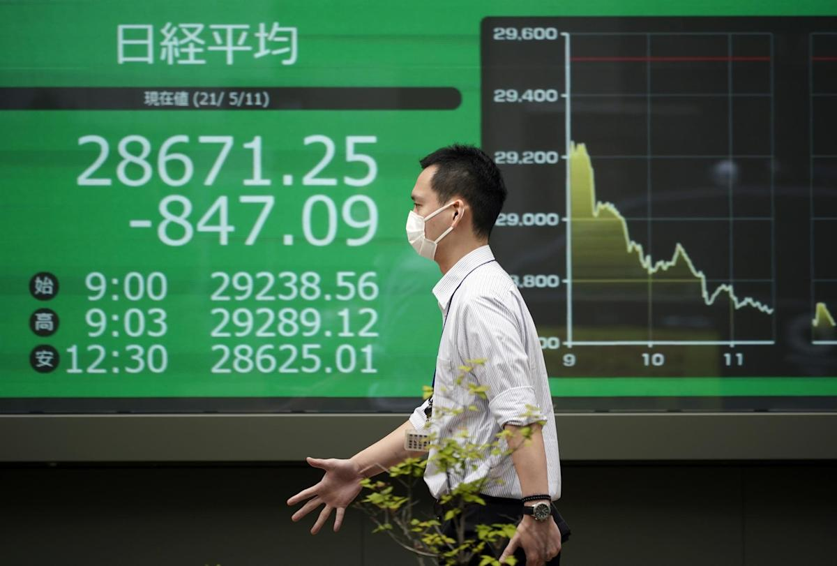 The Nikkei falls 0.62% on caution against recent boom