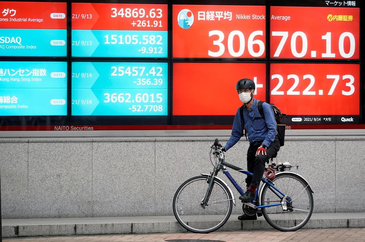 The Nikkei gains 0.58% encouraged by the yen and Wall Street