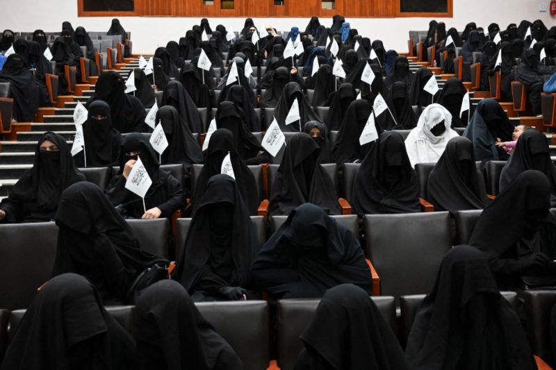"""The Taliban replace the Ministry of Women with one against """"vice"""""""