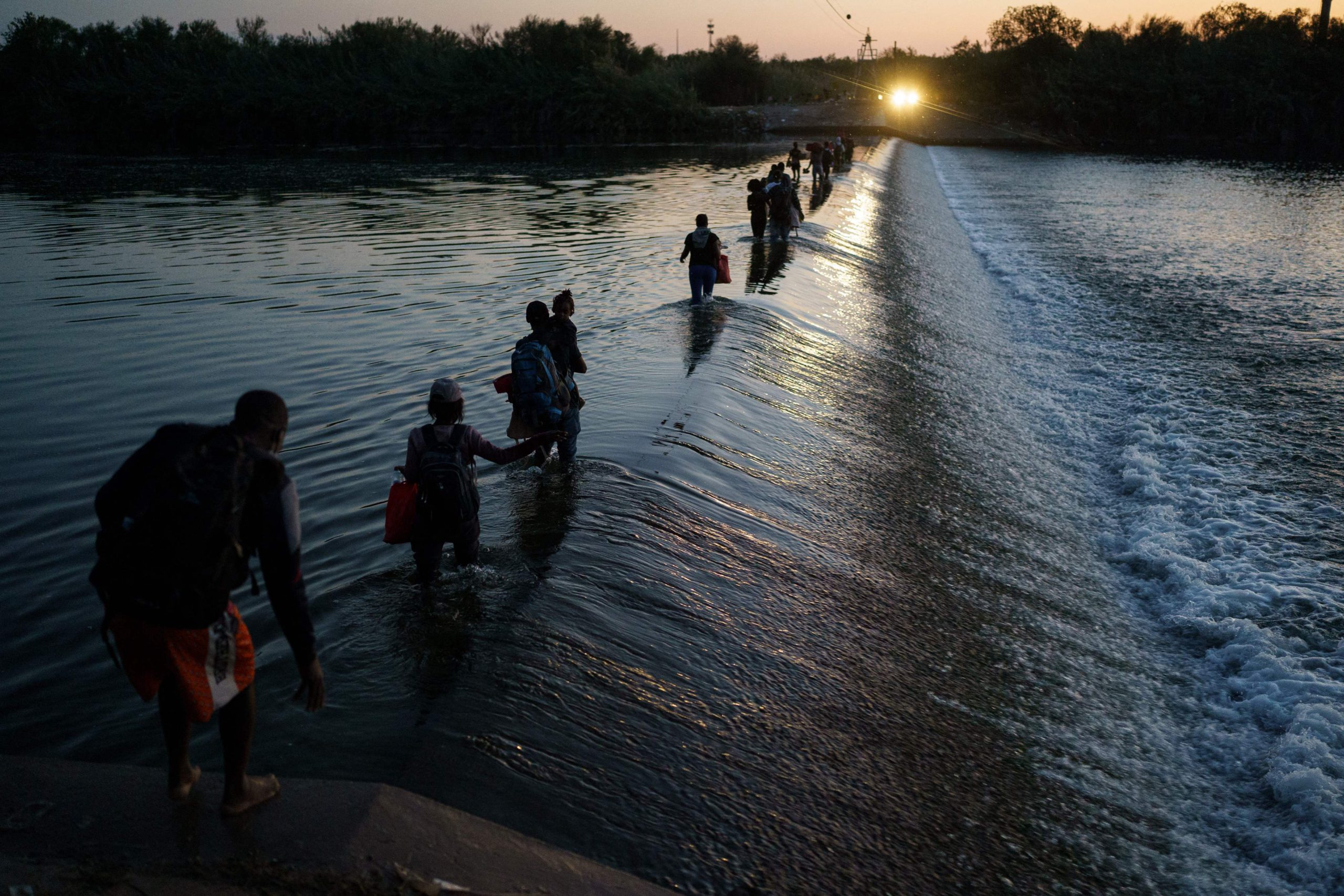 The US plans to expel thousands of Haitians held in South Texas