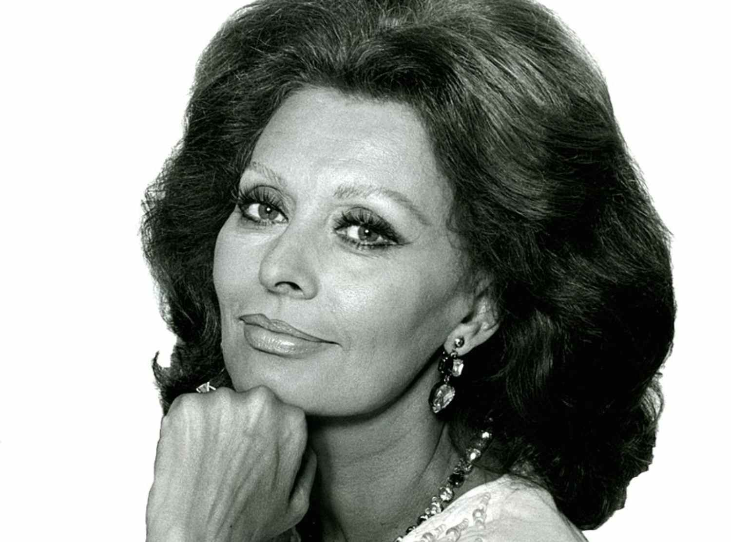 The enigmatic phrases of Sophia Loren on the day of her birth