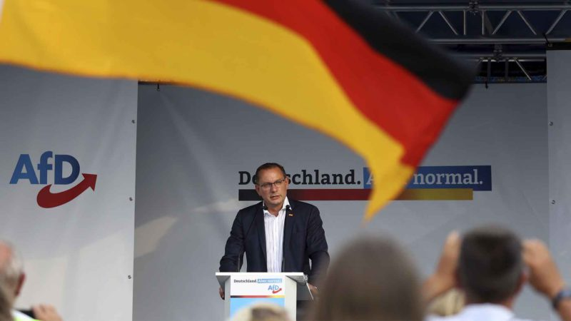 The far right advances towards victory in the German state of Saxony in the 26S elections
