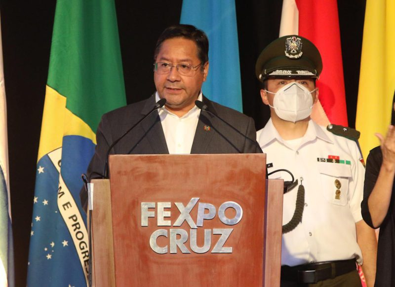 The largest Bolivian business fair opens after the pause by covid-19