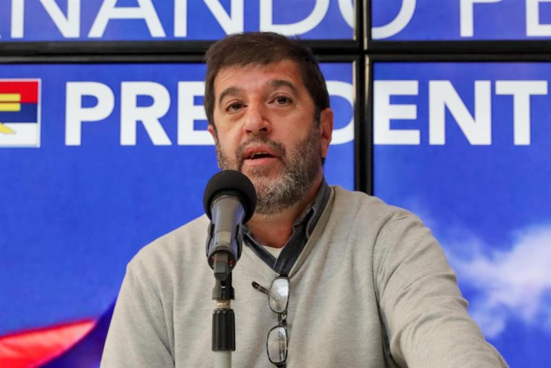 The president of the Uruguayan trade union center is running to preside over the Broad Front