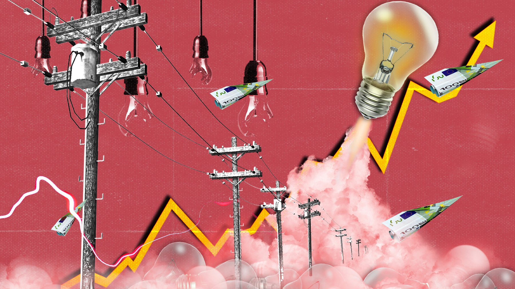 The price of electricity will give Spaniards a break this Tuesday but it is still above € 150 / MWh