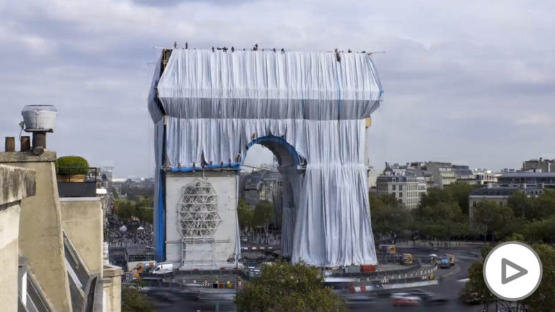 The reason why Paris is 'enveloping' the Arc de Triomphe