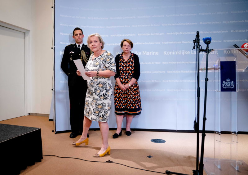 The resignation of the defense minister aggravates the crisis in the Netherlands due to the evacuations from Afghanistan