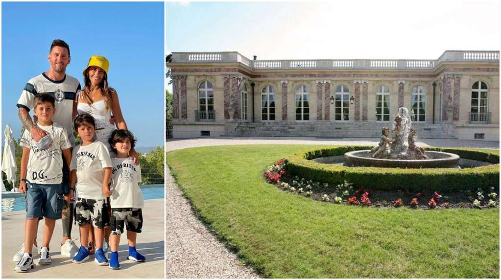 The unexpected condition that they put on the Messi to rent them a dream mansion in Paris
