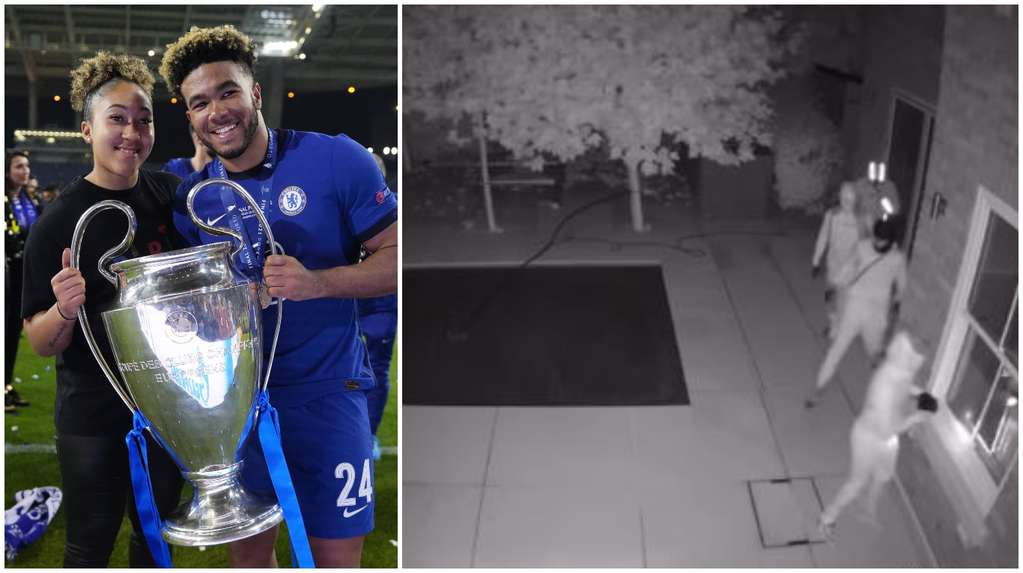 The video of the robbery of Reece James' mansion while he was playing with Chelsea: the treasure that the thieves took