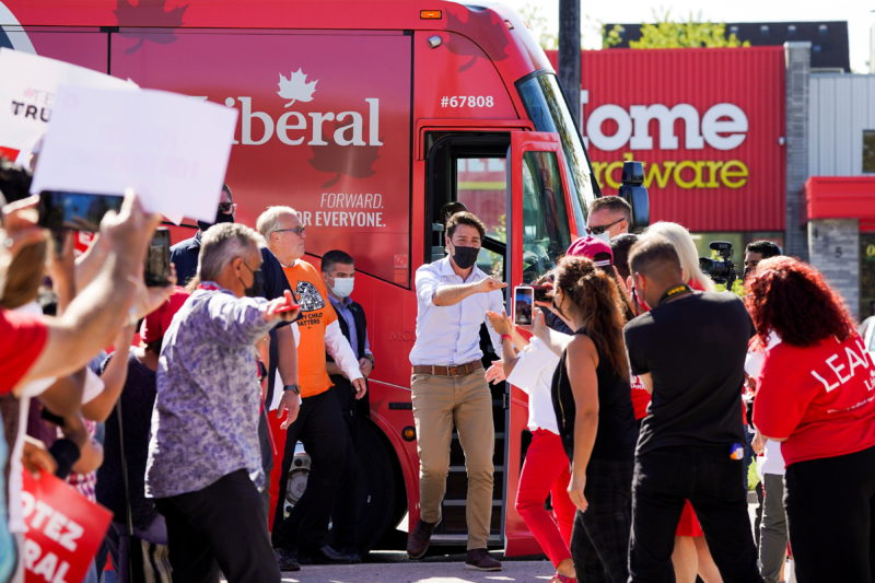 Trudeau gambles his political legacy in the Canadian elections