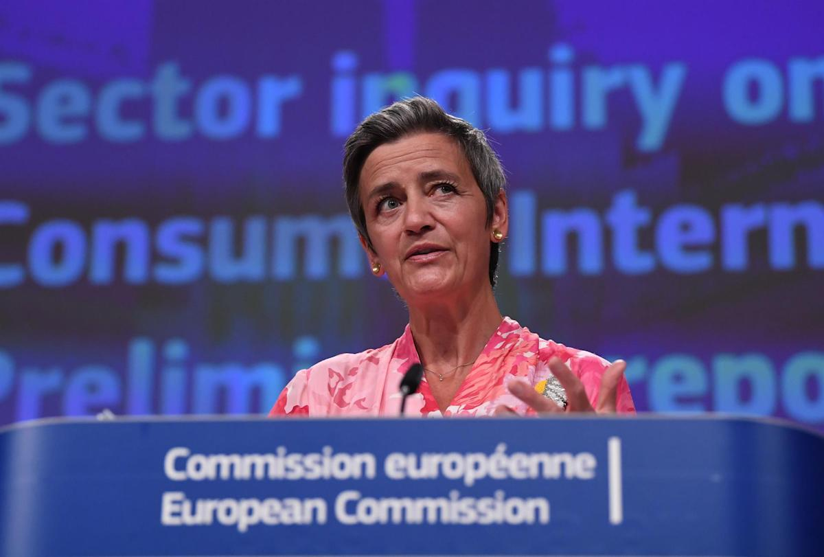 Vestager attributes part of the rise in energy prices to the cost of CO2