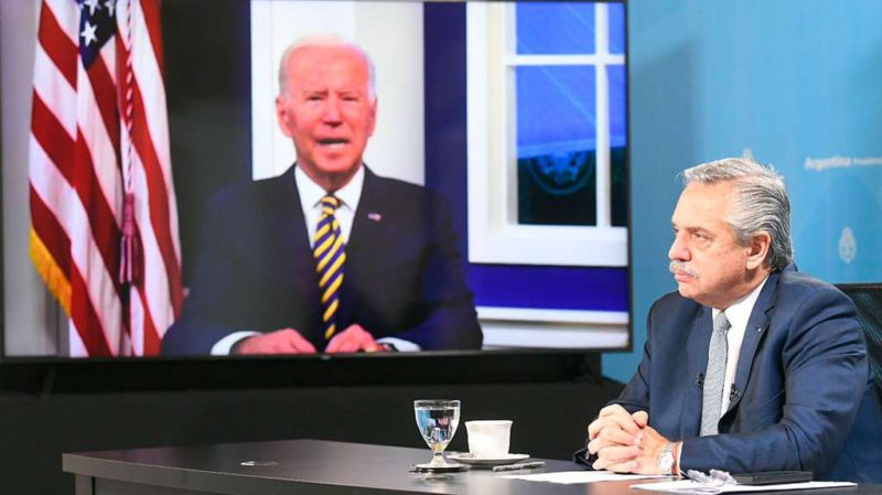 While Kirchnerism pressures to break the negotiation, Alberto Fernández demanded the support of Joe Biden to agree with the IMF