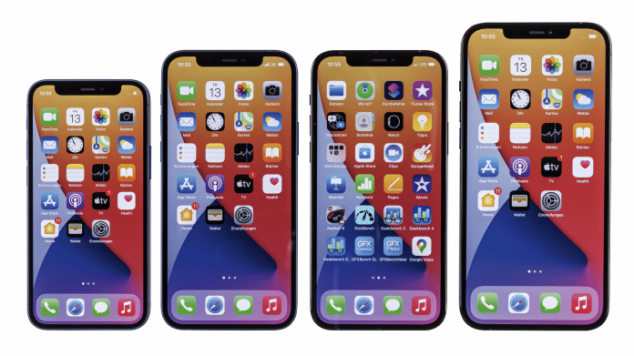 iPhone 12 - from mini to Pro Max