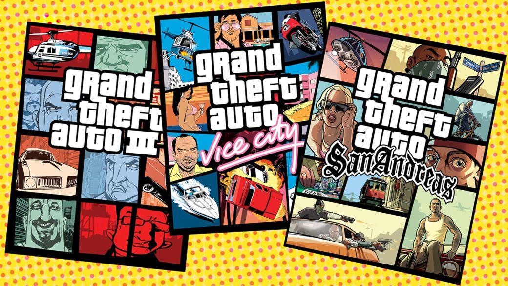 Grand Theft Auto: The Trilogy – The Definitive Edition aparece registrado en Corea del Sur