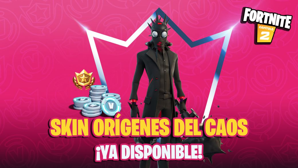 Fortnite Club October 2021: Chaos Origins skin and its items now available